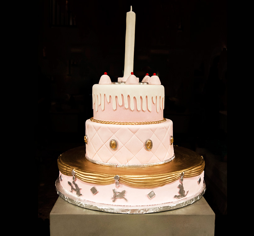 Design Cake | PIN-UP Magazine x Chamber Gallery | Laila Gohar